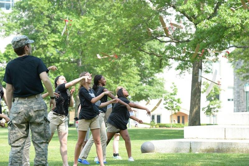 CFES Scholars and future engineers visit West Point
