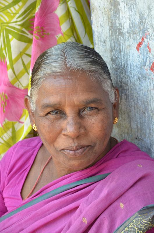 India Partners also supports widows, who are poor, abused and often have no source of income