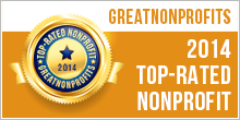 Great Nonprofits Top-Rated Nonprofit Badge