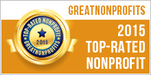 2015 Top-Rated Nonprofit on GreatNonprofits.org
