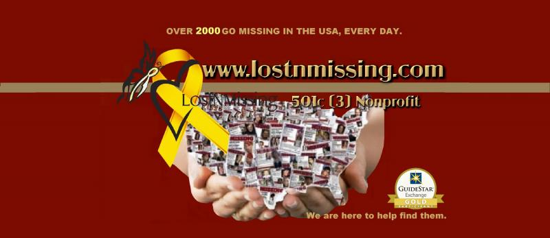 LostNMissing, Inc Logo