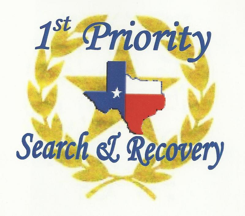 1ST PRIORITY SEARCH & RECOVERY Logo