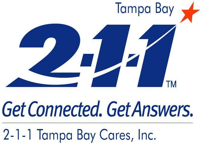 211 Tampa Bay Cares Inc Logo