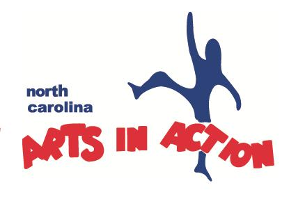 North Carolina Arts in Action Logo