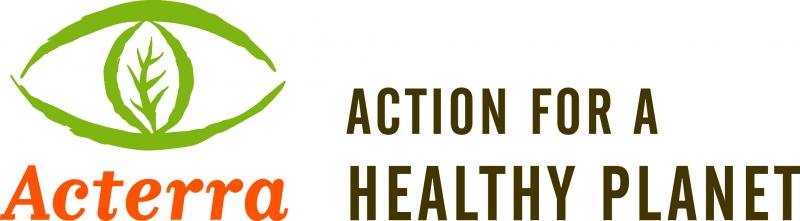 ACTERRA: Action for a Healthy Planet Logo
