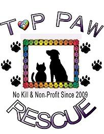 Top Paw Rescue Inc Logo