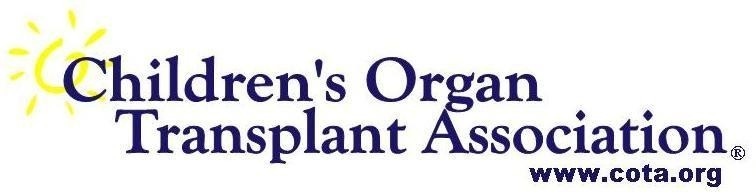 Cota Childrens Organ Transplant Association Inc Logo