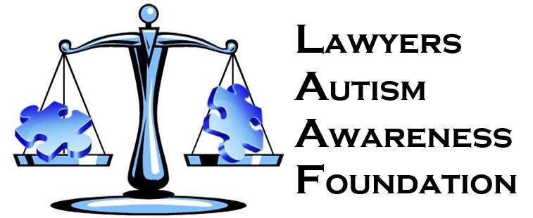 Lawyers Autism Awareness Foundation Logo