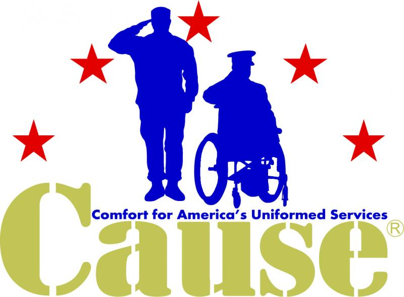 Comfort For America's Uniformed Services Logo