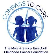 Compass to Care, The Mike & Sandy Ernsdorff Childhood Cancer Foundation Logo