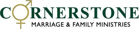 CORNERSTONE MARRIAGE & FAMILY MINISTRIES Logo