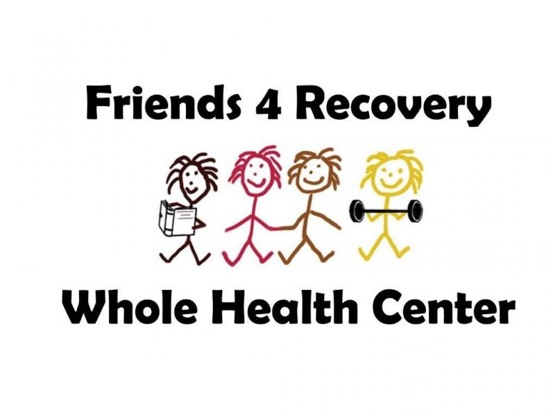 Friends 4 Recovery Whole Health Center Logo