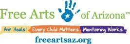 Free Arts for Abused Children of Arizona Logo