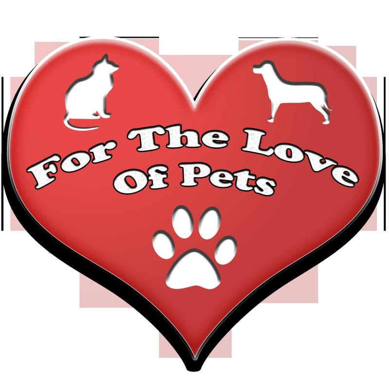 For The Love of Pets Logo