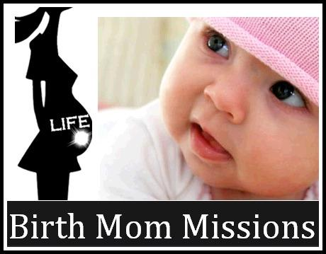 Birth Mom Missions Logo