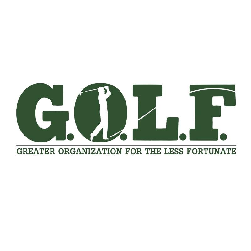 G.O.L.F. - Greater Organization for the Less Fortunate Logo