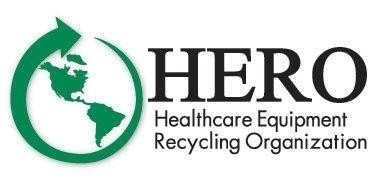 HERO, Healthcare Equipment Recycling Organization Logo