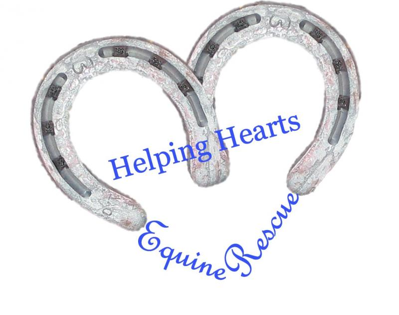 Helping Hearts Equine Rescue Logo