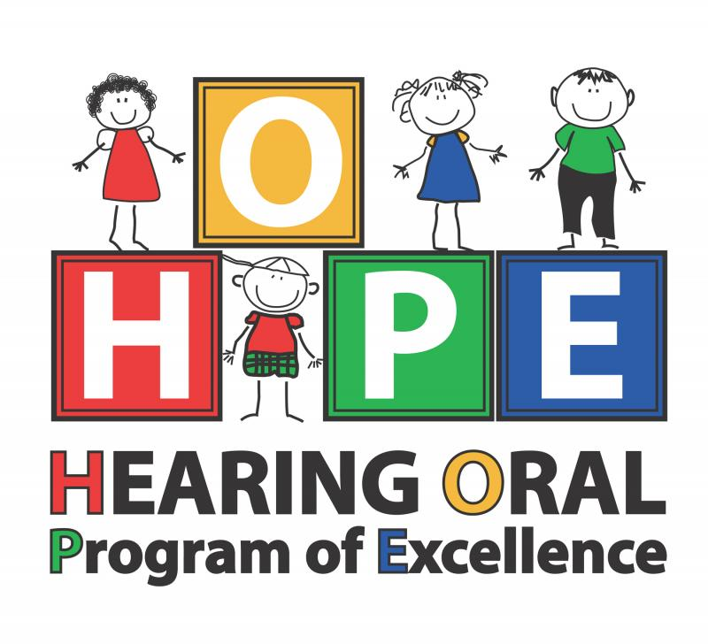 Spokane Hope School Hearing-Oral Program of Excellence Logo