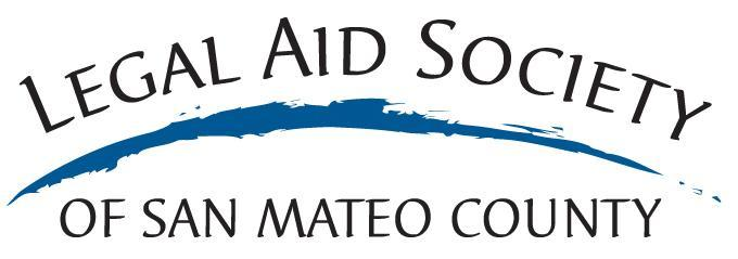 Legal Aid Society of San Mateo County Logo