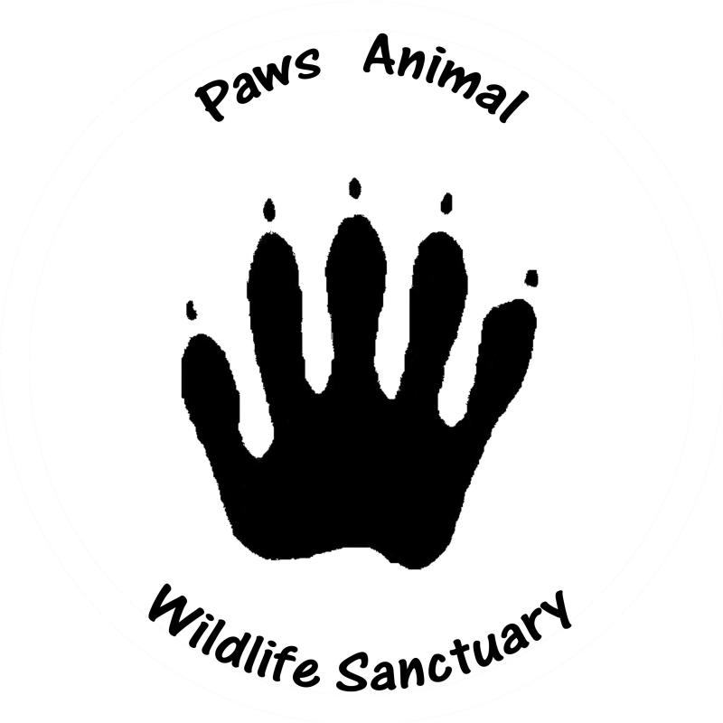 Paws Animal Wildlife Sanctuary Inc Logo