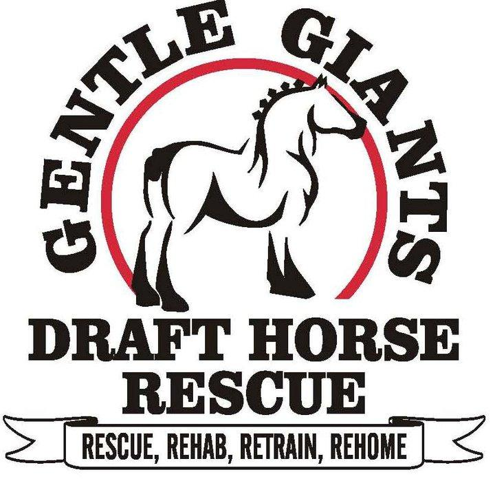 Gentle Giants Draft Horse Rescue Society Ltd Logo