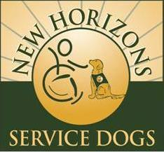 New Horizons Service Dogs, Inc. Logo