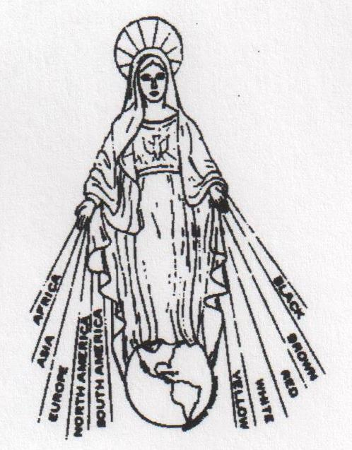 Mary Queen of All Nations Missionary Alliance Logo