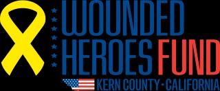 Wounded Heroes Fund Kern County Chapter Logo