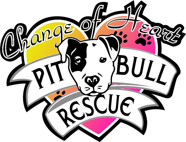 Change of Heart Pit Bull Rescue Logo