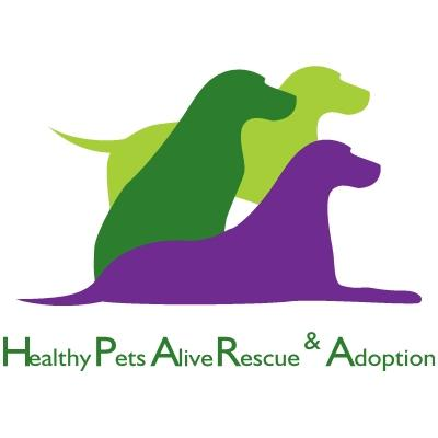 Healthy pets Alive Rescue & Adoption Logo