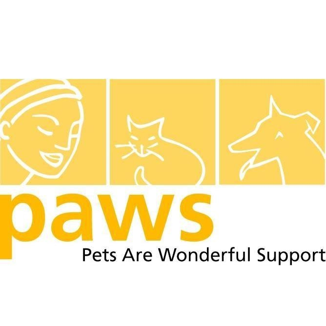 Pets Are Wonderful Support (PAWS) Logo