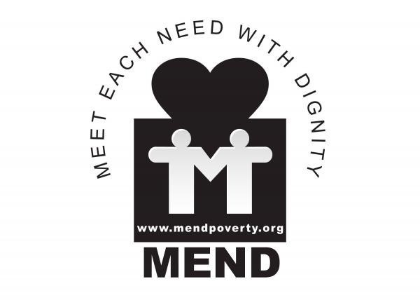 MEND - Meet Each Need with Dignity Logo