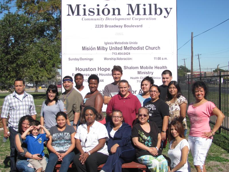 Mission Milby Community Development Corporation Logo