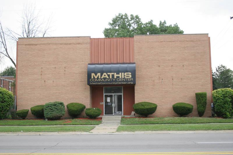 Mathis Community Center Logo