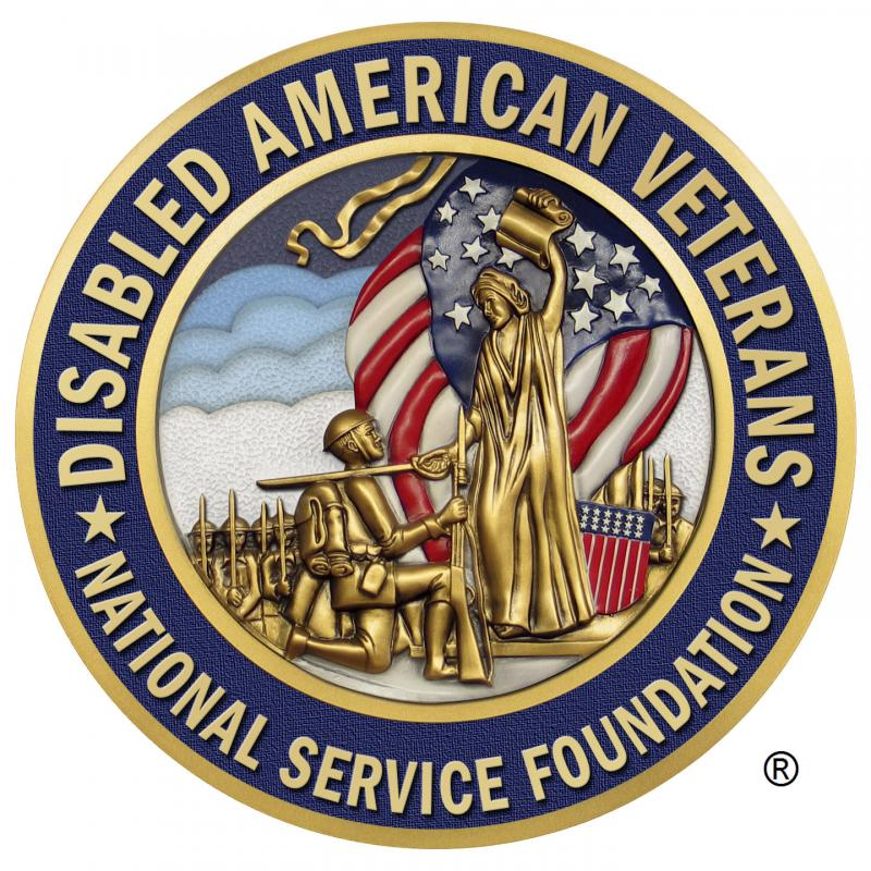 Disabled American Veterans (DAV) National Service Foundation Logo