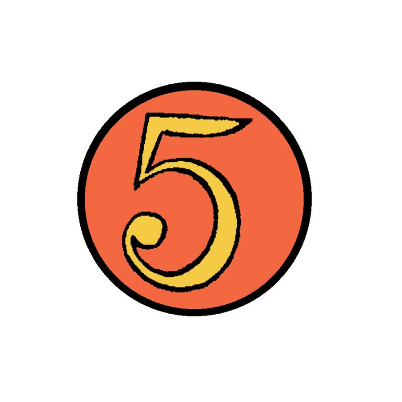 5 For Fairness Logo