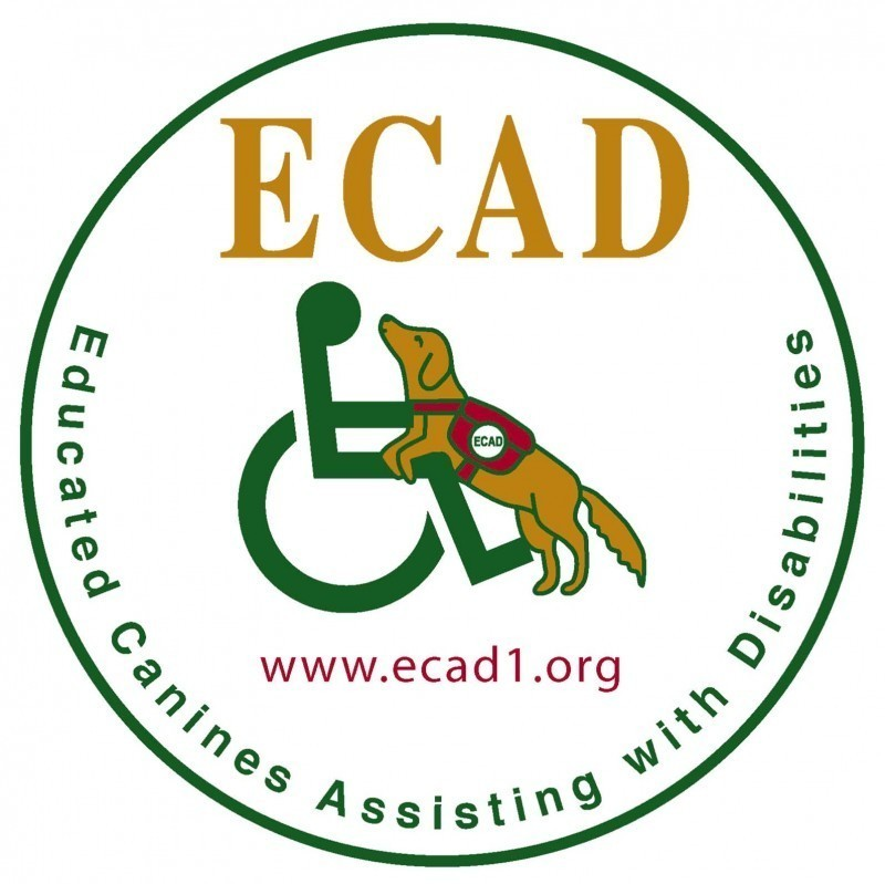 ECAD, Educated Canines Assisting with Disabilities Logo