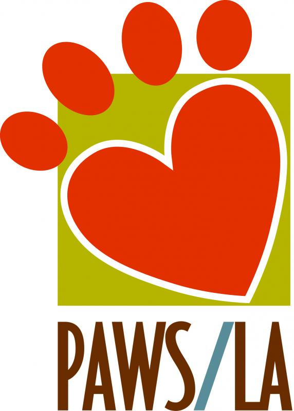 Pets Are Wonderful Support Los Angeles (PAWS/LA) Logo