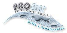 ProNet International Gifts & Scholarships, 501c3 Logo