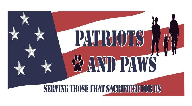 Patriots and Paws Logo