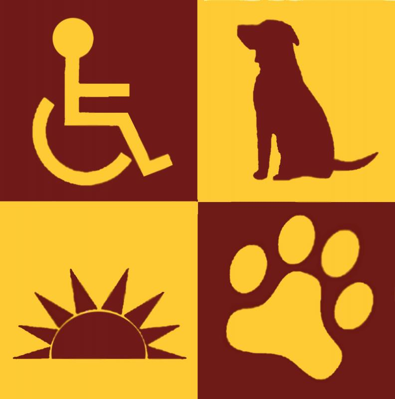 Pawsitive Perspectives Assistance Dogs (PawPADs) Logo
