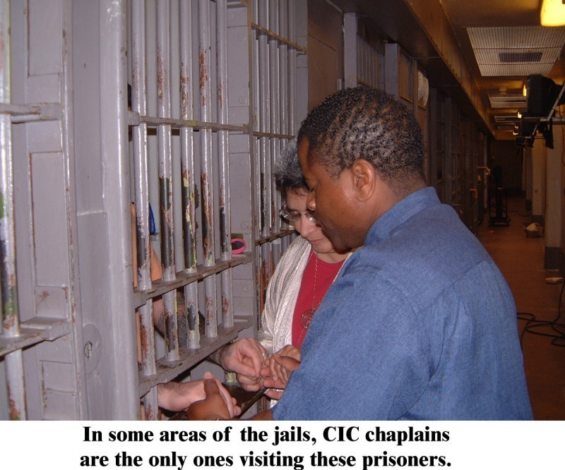 Correctional Institutions Chaplaincy Logo