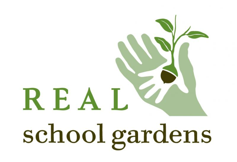 REAL School Gardens Logo