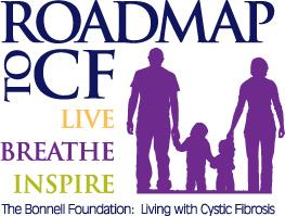 The Bonnell Foundation: Living with Cystic Fibrosis Logo
