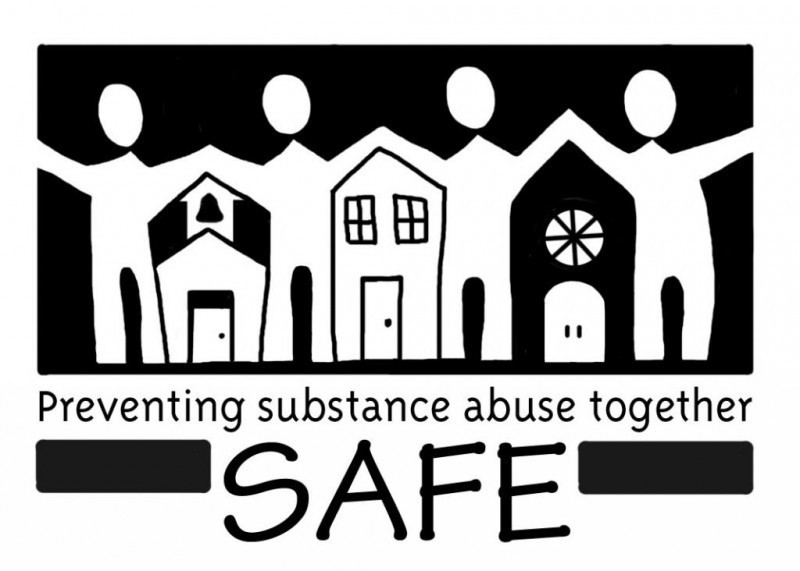SAFE (Substance Abuse Free Environment, Inc.) Logo