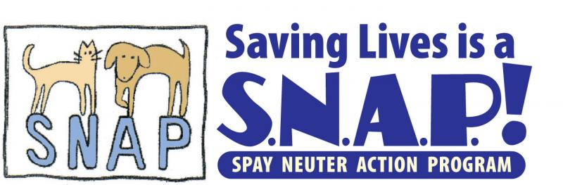 SPAY & NEUTER ACTION PROGRAM (SNAP) Logo