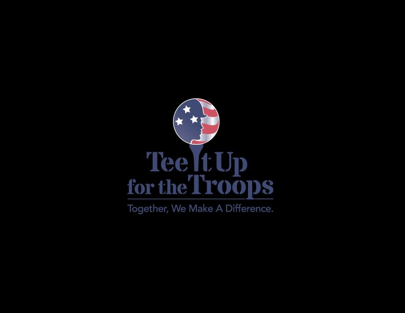 Tee It Up for the Troops Inc Logo
