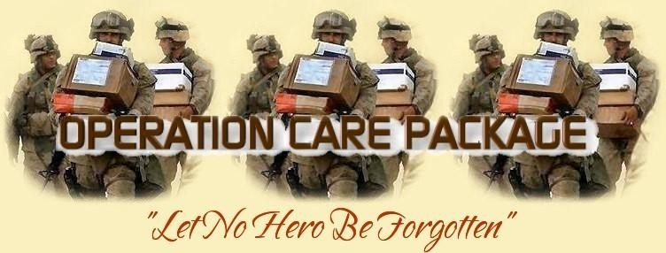 Operation Care Pckage, Inc. Logo