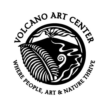 VOLCANO ART CENTER Logo